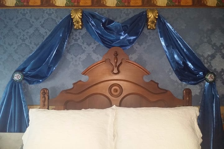 """The VictoriAnn Cottage"" Blue Room"