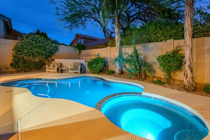 🌵North Scottsdale  McDowell Mtn  home Pool /Spa❤️