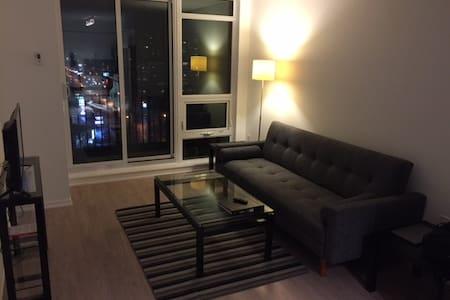 New 1 bdrm uptown Toronto condo. Close to subway. - Toronto - Appartement en résidence