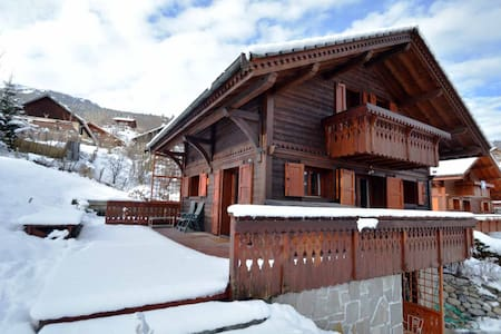 Beautiful chalet in the Three Valleys, French Alps - Les Allues  - 獨棟