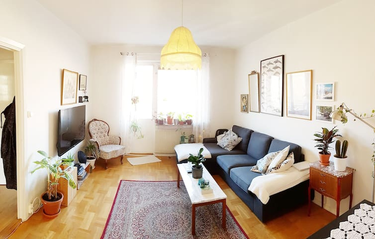 Light and nice apartment 15min to the city center