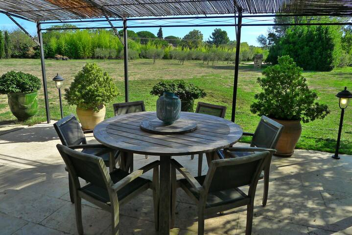 Gite Amande: La terrasse