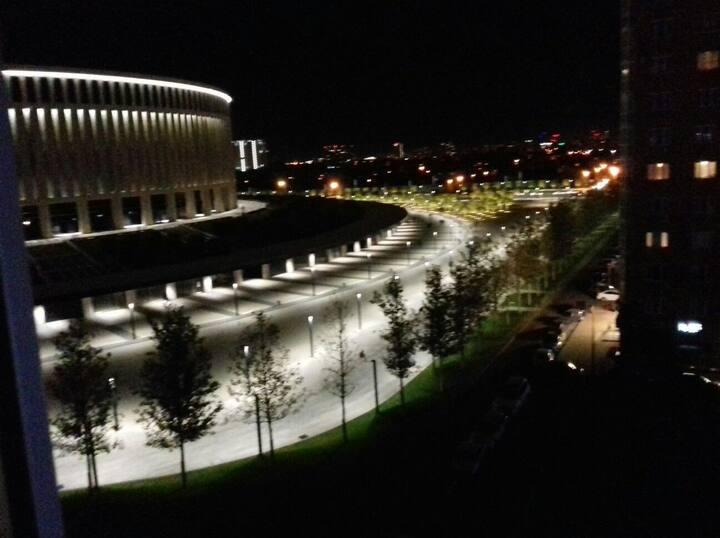 Вид на Стадион Краснодар. ЖК Панорама.