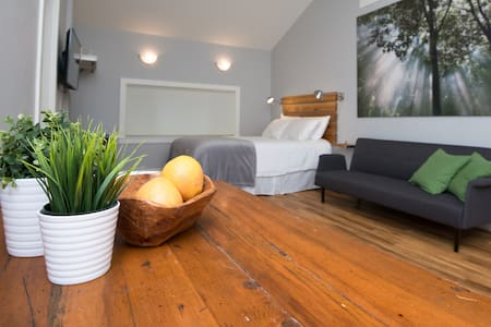 Suite with Hot Tub/Walk to Town - Huis