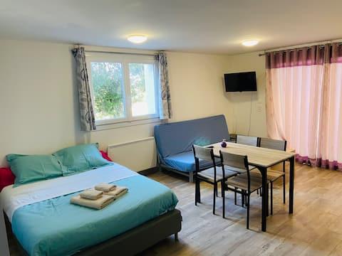 Appartement fonctionnel à l'entrée de Bordeaux