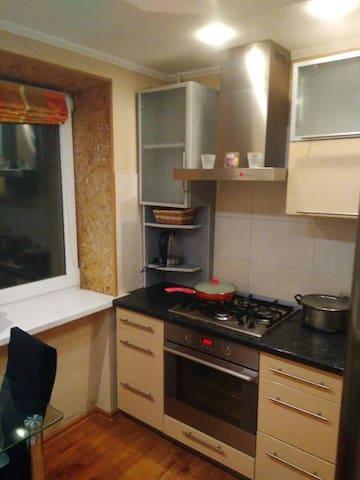 Классная квартира для проживания и отдыха