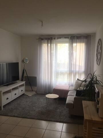Appartement tous équipés proche de Genève