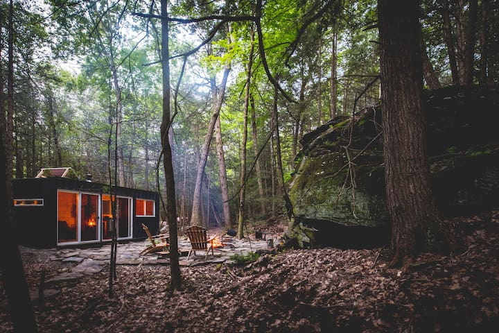 Container Cabin in the Catskills