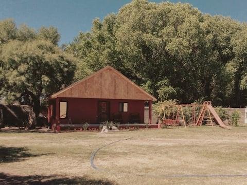 Acogedora Cabaña tipo Loft en Huerta de Nogales