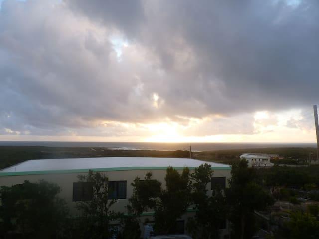 Beautiful unobstructed sunrises........