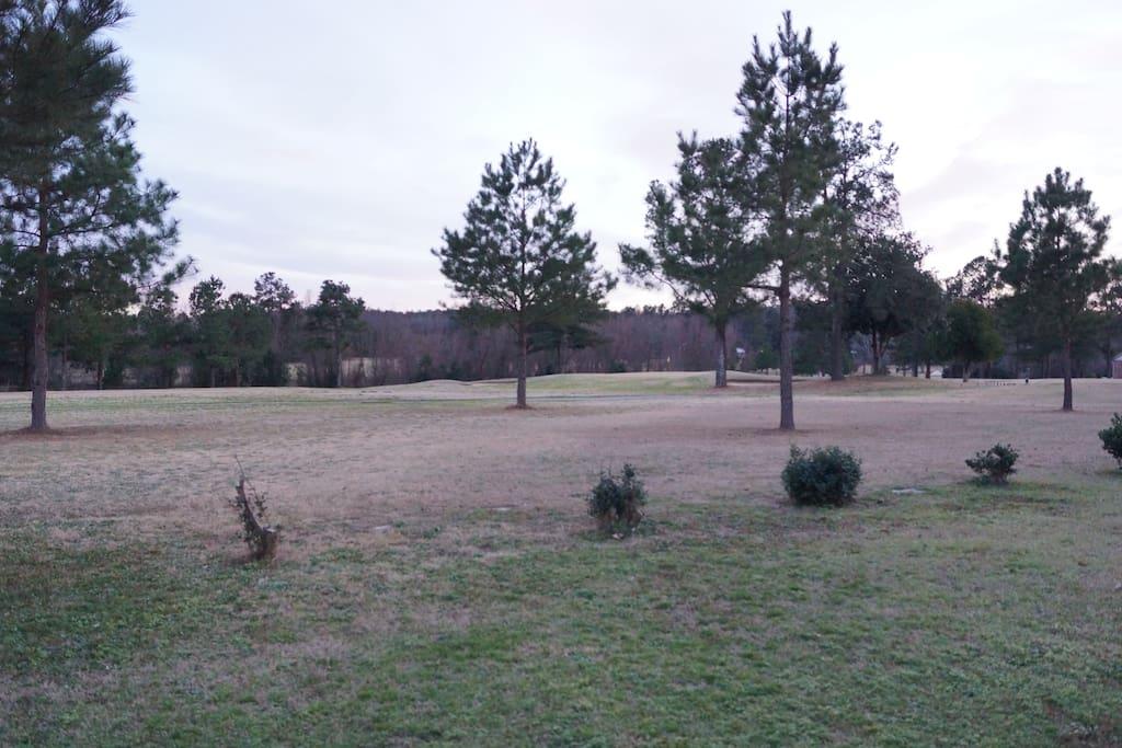 Backs up to Goshen Plantation Golf Course.