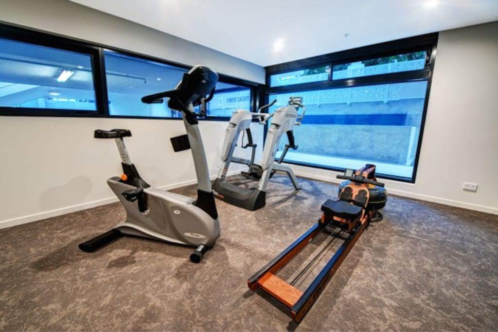 Gym Facilities located level 2 of the complex