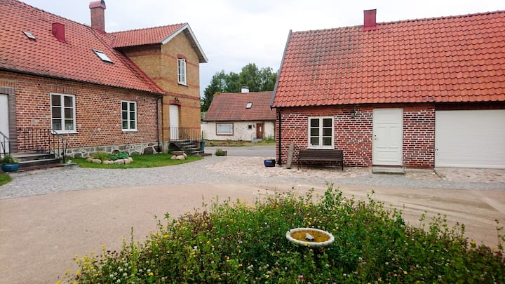 The Old Doctor's annexe in Brösarp  on Österlen