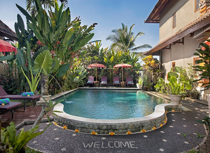 SUPER SALE - Comfortable room for 2 pax in Ubud