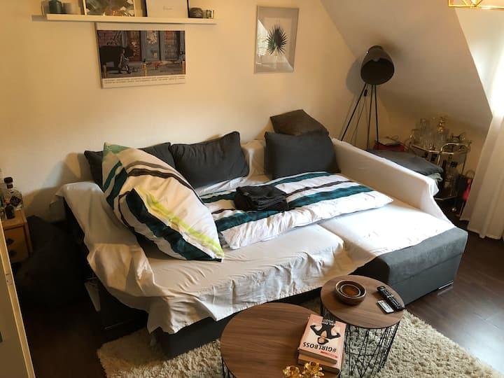 Cozy Schlafcouch - Mitten im Herzen von Karlsruhe