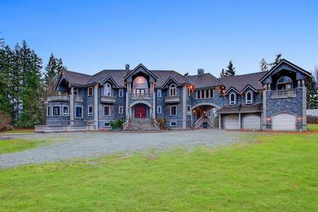 20,000+sq ft Luxury Castle on 5+ acres