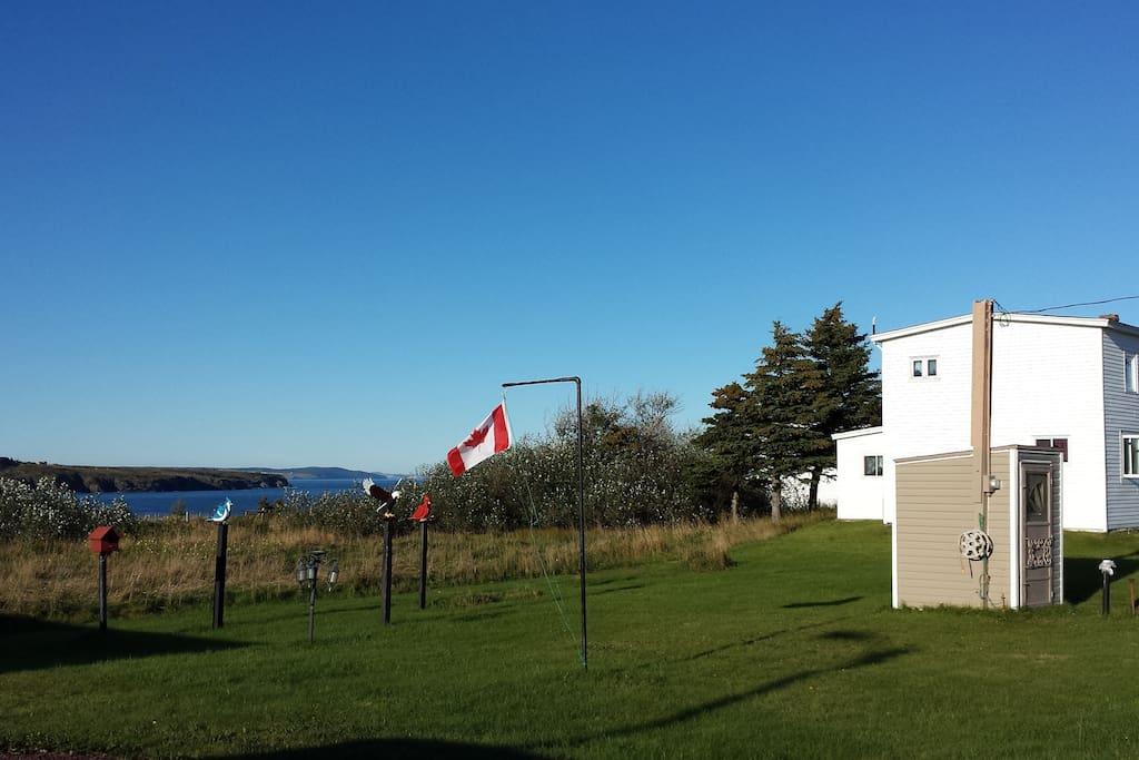 Reuben Crowley Home, South Side Road, Western Bay, Newfoundland