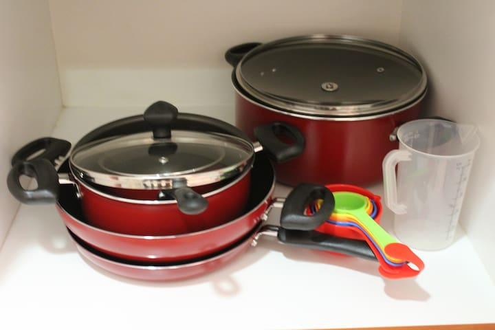 All the cookware you need to get going