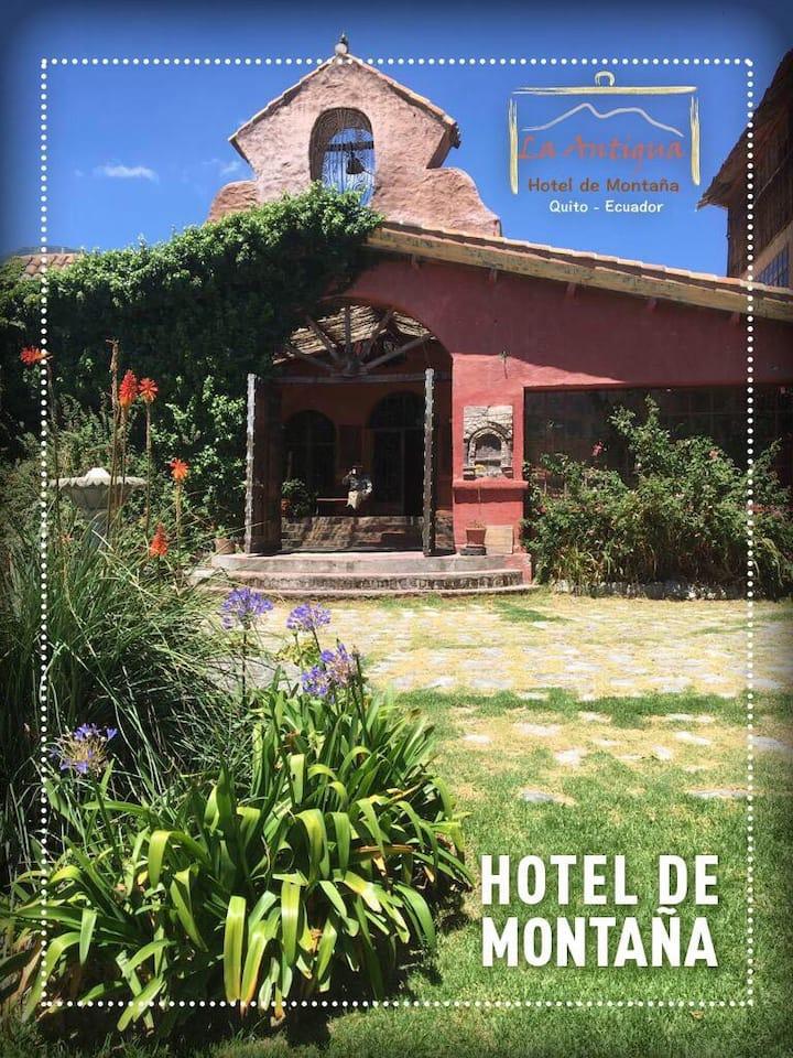 La Antigua, Hotel de Montaña a 30 minutos de Quito