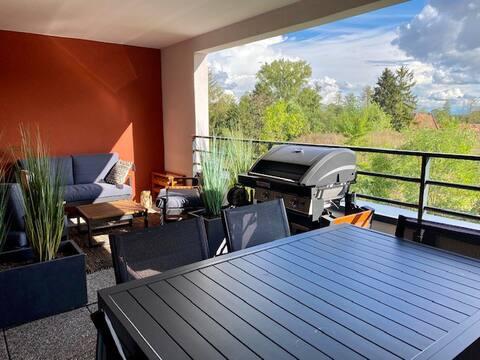 Appartement 2P aux portes de Strasbourg