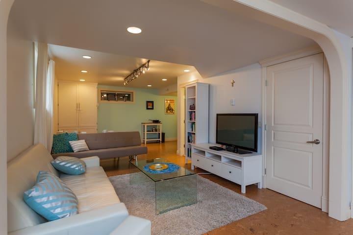 Inner-city studio suite & breakfast - Calgary - Haus