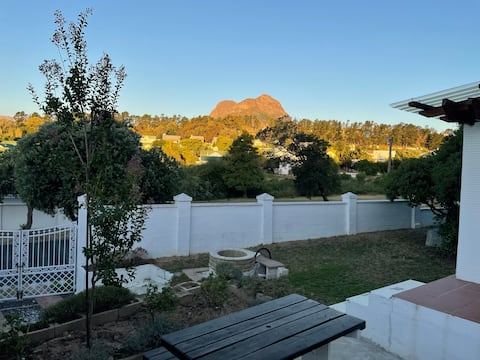 Renovated modern garden suite