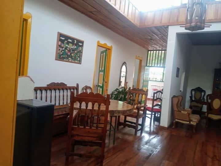 Habitación privada, Pijao Quindío Ciudad sin prisa