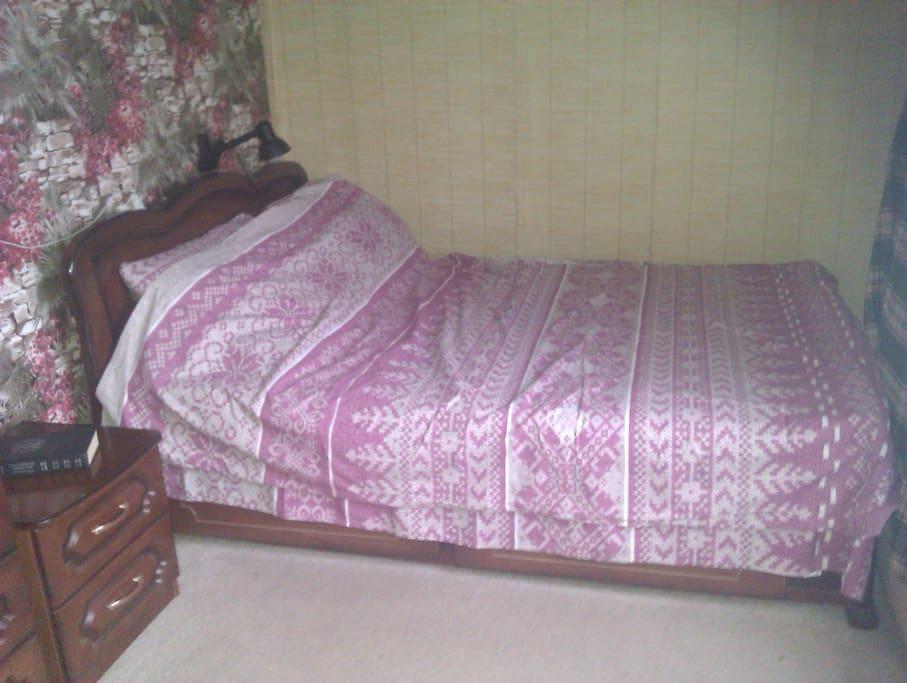 Спальное место для двух человек