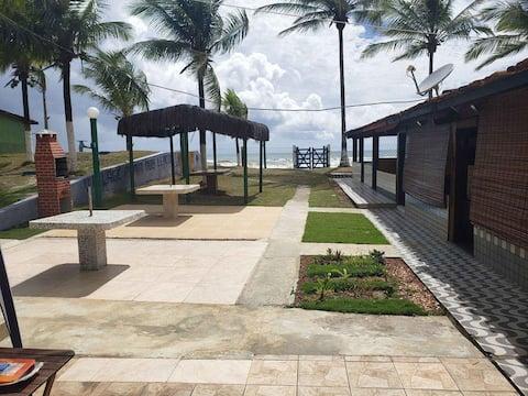 Chalé na beira da Praia em Lençóis/Una BA