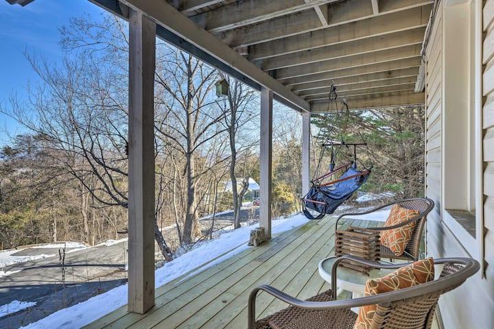 NEW! Massanutten Retreat w/ Double Deck & Mtn View
