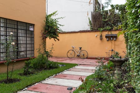Room at Coyocán with independent access to street - Ciudad de México