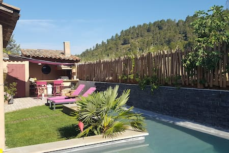 BEAUTIFUL HOUSE IN PROVENCE WITH SWIMMING-POOL - Rousset - House