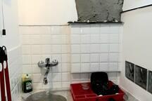 La stanza rossa alle Cinque Terre