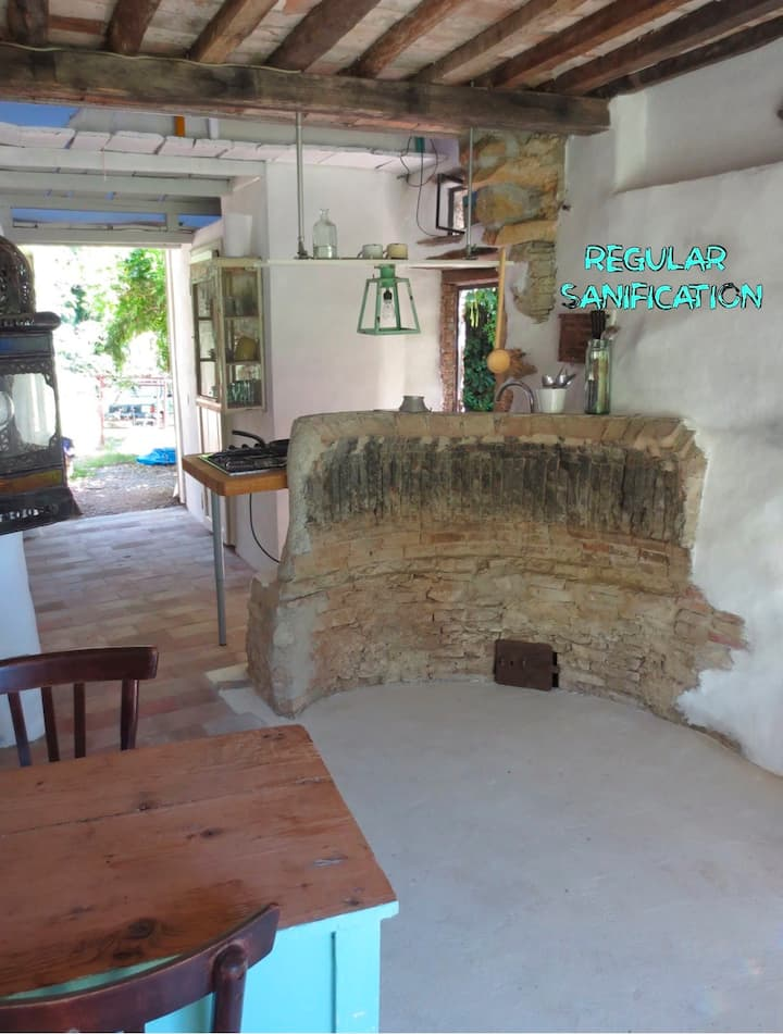 breath-tak. tusc. stone hut& pool