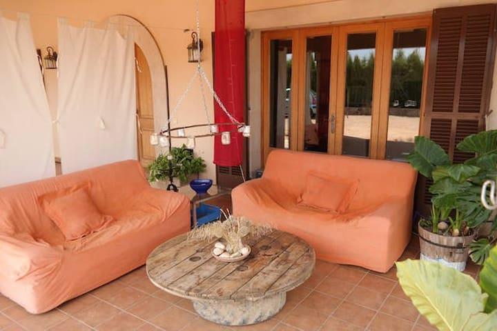 Habitación doble en finca rústica - Algaida - House