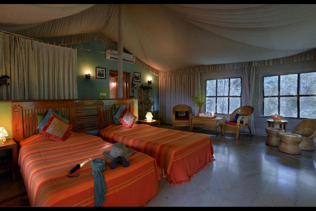 Luxury Tent - Interior