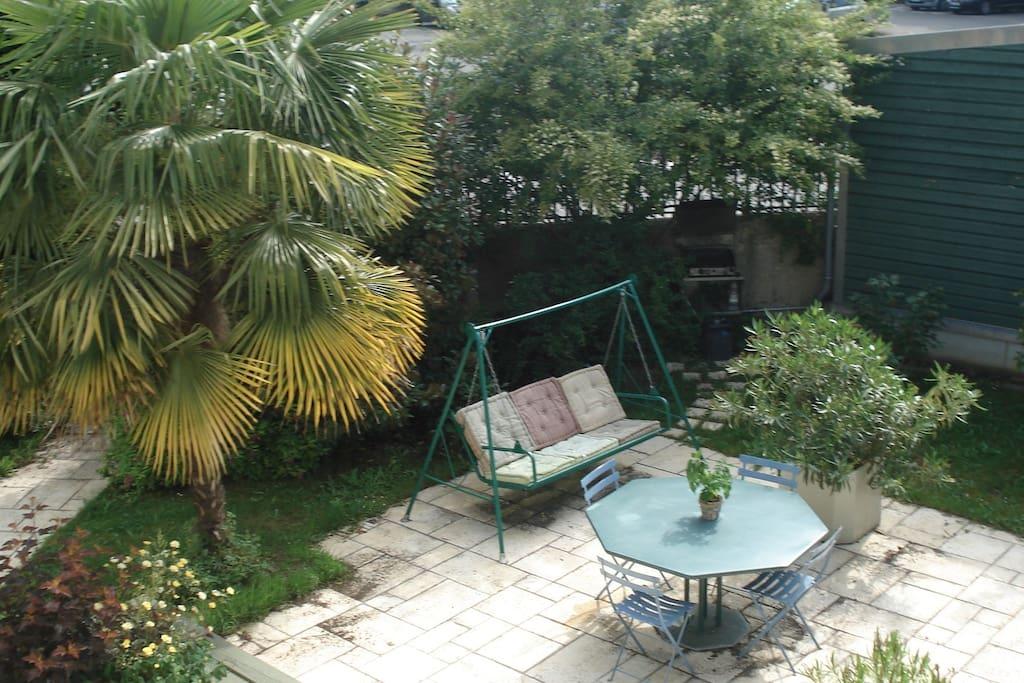 Chambre n 1 chatillon centre et jardin pour 2 pers bed - Chambre d hote chatillon sur chalaronne ...