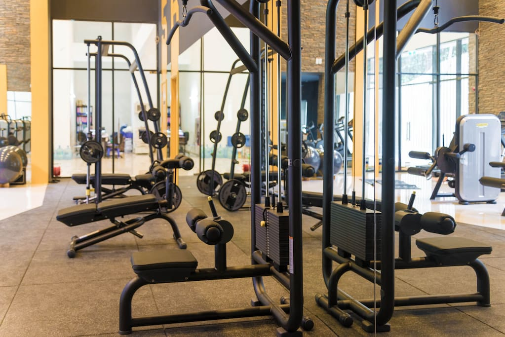 gym room for free in 1st floor