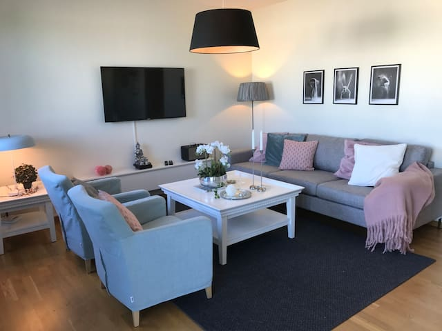 Modern 2 bedroom apartment in the city center