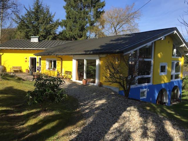 Künsterhaus - naturnah - ruhig - Niedersteinebach - Villa