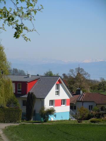 Ferienwohnung im Einfamilienhaus - Daisendorf - Haus