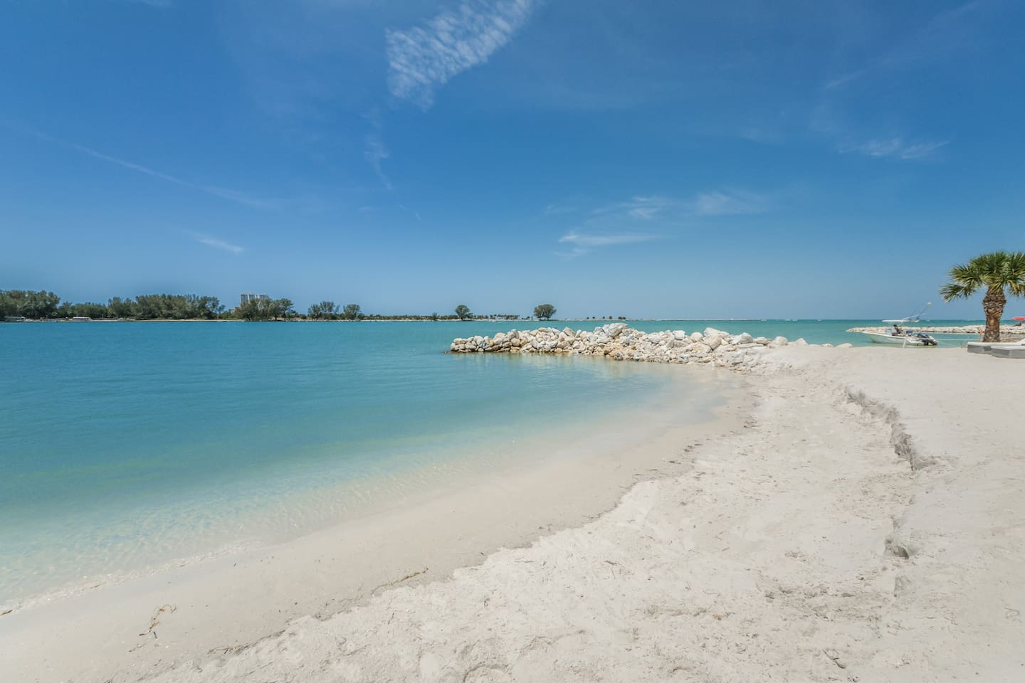 The Only Private Beach In All Of Clearwater With A Restaurant Tiki Bar
