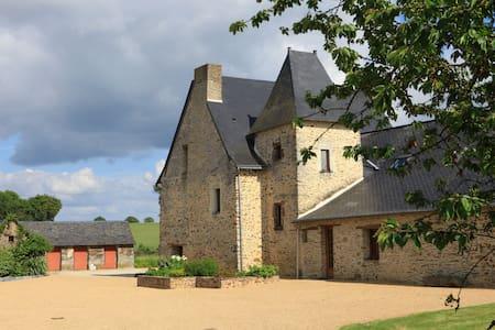 Gîte à la ferme en Anjou Bleu - Loiré