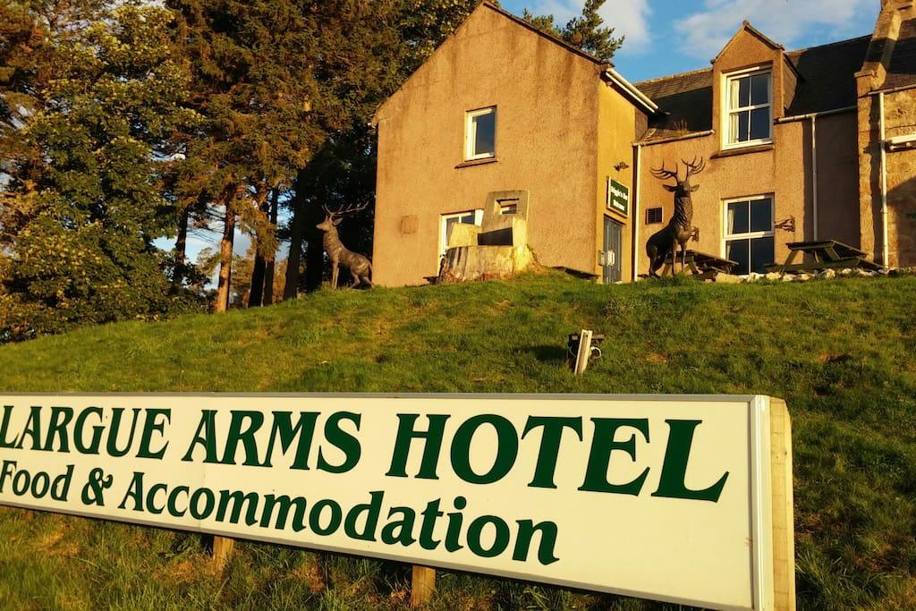 Allargue Arms hotel