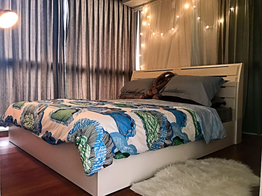 The master bedroom 主卧