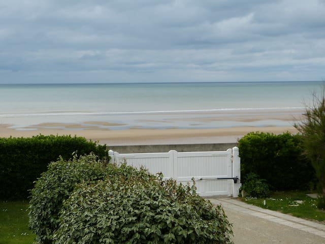 "Omaha Beach Normandie  "" Les Tamaris "" Chambres - Saint-Laurent-sur-Mer - Pension"