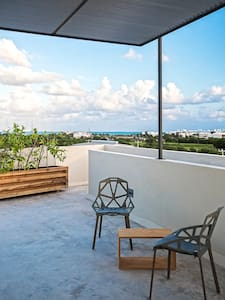 50 square meters studio with view to the Caribbean - カンクン