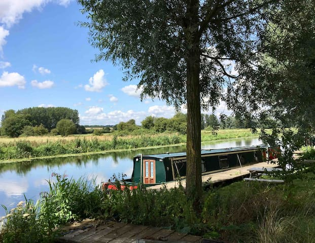 Summer at Barnwell Moorings