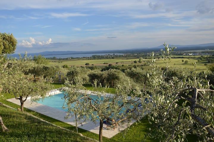 Villa Patrizia: Tuscany Farmhouse apt1