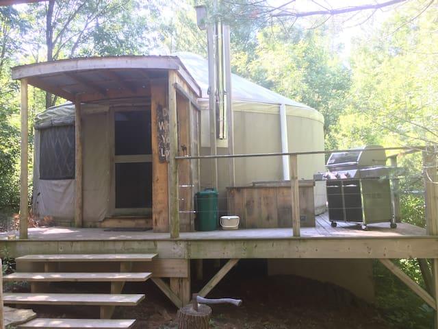 Off-Grid Yurt Homestead Retreat